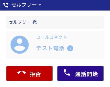 着信時の電話番号表示